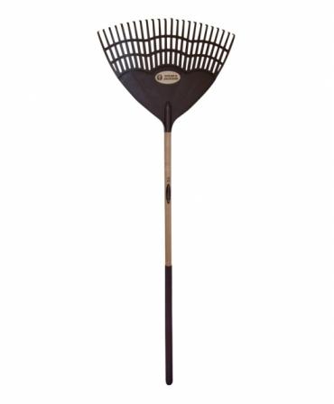Grebla tip evantai flexibila cu dinti de plastic, coada lemn, Spear & Jackson Traditional, produs