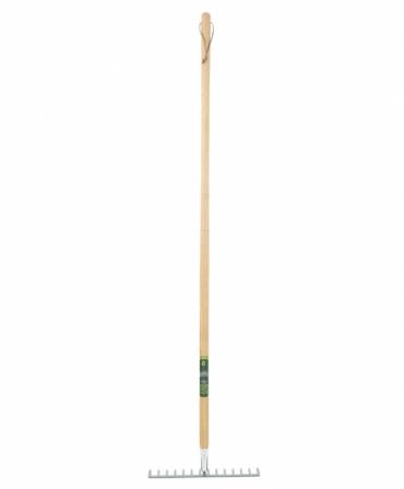 Grebla dreapta Heavy Duty cu dinti din otel carbon, coada lemn, Spear & Jackson Kew Garden, produs