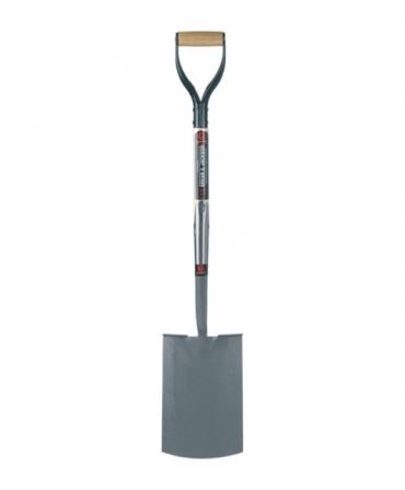 Cazma cu lama otel carbon cu margini indoite, coada lemn, maner D lemn, Spear & Jackson Neverbend Professional, produs