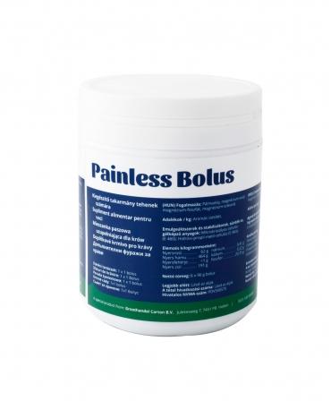 Bolusuri cu eliberare rapida pentru calmarea durerilor la vaci, Carton Painless Bolus, cutie 6 bucati, spate