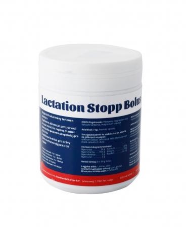 Bolusuri cu eliberare rapida pentru vacile intarcate, Carton Lactation Stopp Bolus, cutie 6 bucati, spate