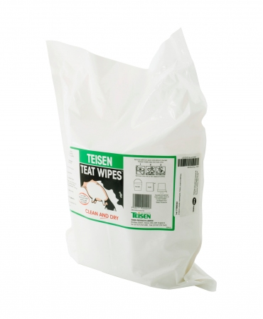 Servetele umede pentru dezinfectia mameloanelor Teisen Teat Wipes, rezerva 600 bucati, profil