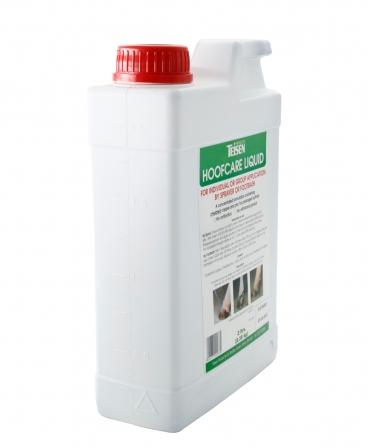 Solutie lichida pentru ingrijirea ongloanelor Teisen Hoof Care, bidon 2 l, profil