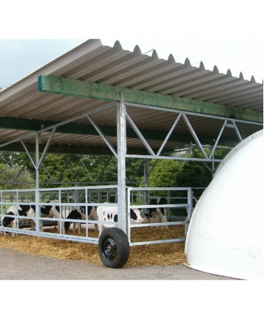 Veranda Igloo H&L, structura de baza fara acoperis, amplasare