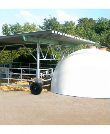 Veranda Igloo H&L, structura de baza fara acoperis, prezentare