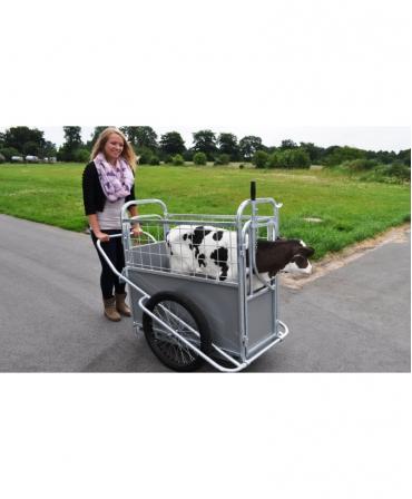 Dispozitiv transport vitei H&L Calf Buggy, utilizare