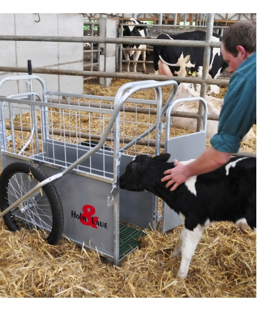 Dispozitiv transport vitei H&L Calf Buggy, incarcare