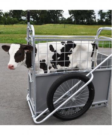 Dispozitiv transport vitei H&L Calf Buggy, de aproape