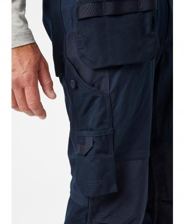 Pantaloni de lucru Helly Hansen Oxford Construction, buzunare pe picior