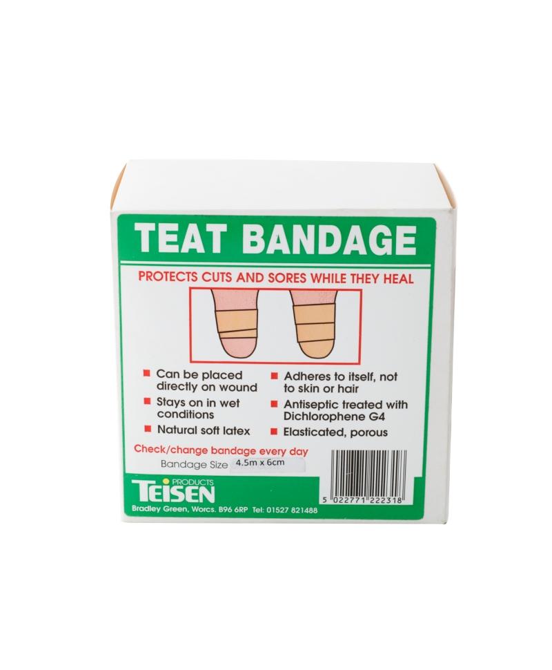 Rola bandaj pentru ingrijirea si tratamentul mameloanelor Teisen Teat Bandage, 6cm x 4,5m, produs
