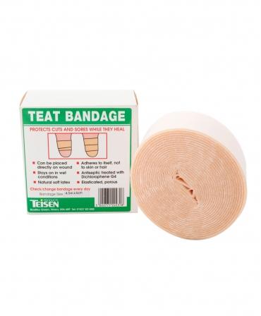 Rola bandaj pentru ingrijirea si tratamentul mameloanelor Teisen Teat Bandage, 6cm x 4,5m, ambalaj