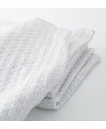 Laveta textila din bumbac Teisen Dairy Cloth, 35 x 35 cm, de aproape
