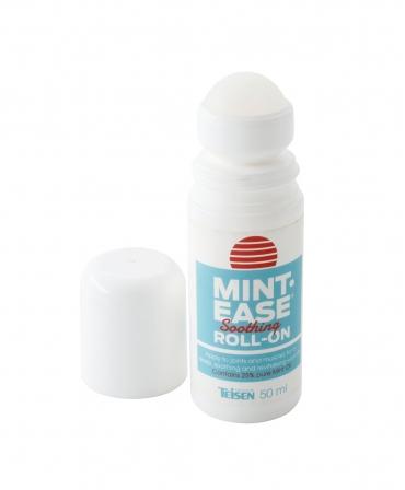 Solutie mentolata cu efect calmant pentru muschi si articulatii, Teisen Mint-Ease, roll-on 50 ml, desfacuta