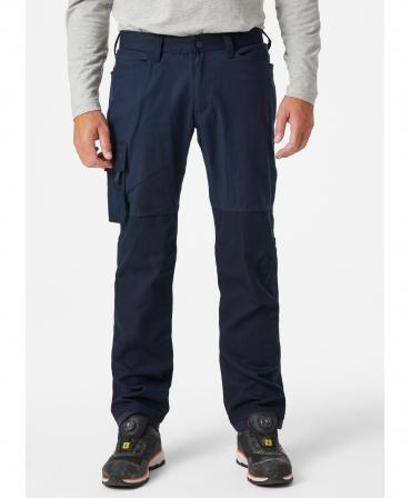 Pantaloni de lucru Helly Hansen Oxford Service, bleumarin, imbracati, fata