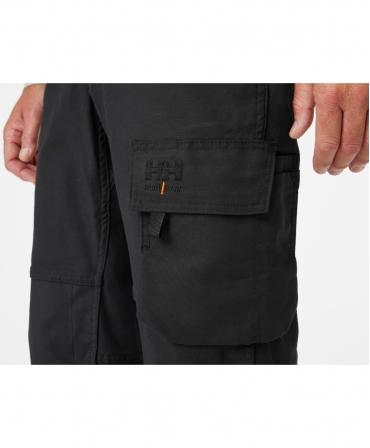 Pantaloni de lucru Helly Hansen Oxford Work, imbracati, din profil