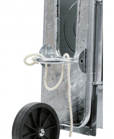 Kit mobilitate pentru cusca contentionare vitei fixa Express Farming, la cusca