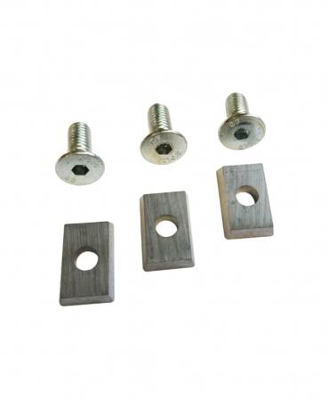 Set 3 lame pentru discurile de trimaj din aluminiu cu 3 si 6 lame, KVK, produs