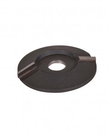 Disc trimaj ongloane 100 mm, inchis, cu doua lame, foarte agresiv, KVK Z2 DVS, produs