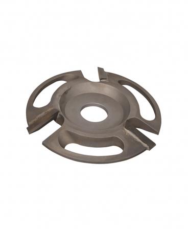 Disc trimaj ongloane 110 mm, deschis, cu trei lame, foarte agresiv, KVK Z3 VERKO, produs
