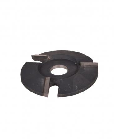 Disc trimaj ongloane 100 mm, deschis, cu trei lame, foarte agresiv, KVK Z3, produs
