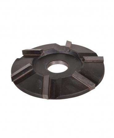 Disc trimaj ongloane 100 mm, inchis, cu sase lame, agresiv, KVK Z6 DVS, produs