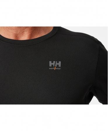 Tricou cu maneca scurta Helly Hansen Lifa Active, negru, logo