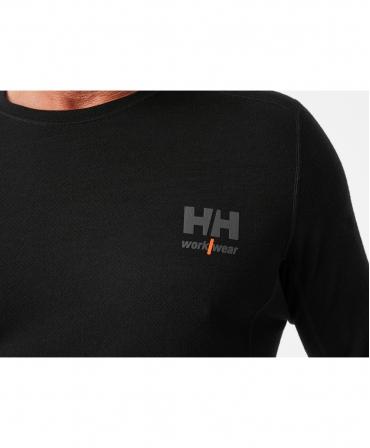 Bluza Helly Hansen Lifa Merino Crewneck, logo