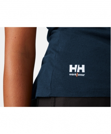 Tricou dama cu maneca scurta Helly Hansen Manchester, logo