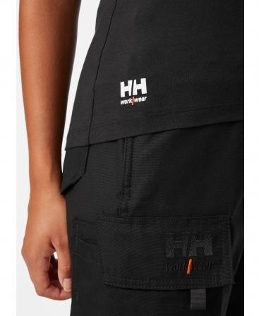 Tricou dama cu maneca scurta Helly Hansen Manchester, imbracat, logo