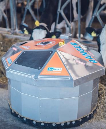 Robot de impins furaje BouMatic Ranger, profil