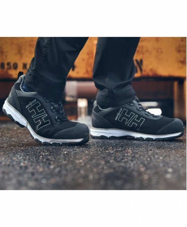 Pantofi protectie Helly Hansen Chelsea Evolution BOA Wide, S3, negru/gri, incaltati, din profil