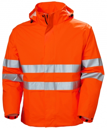Jacheta ploaie Helly Hansen Alta, impermeabila, portocalie, fata