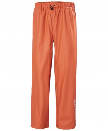 Pantaloni Helly Hansen Voss, impermeabili, portocalii, fata