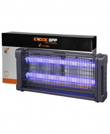 Lampa UV anti-insecte, 2 x 15 W, Knock Off
