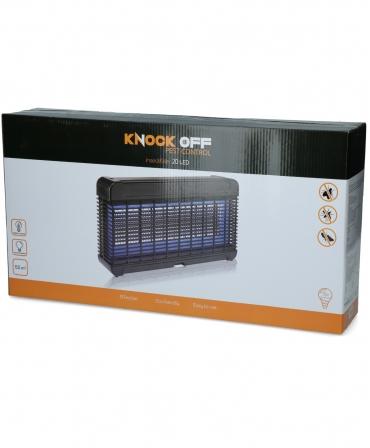 Lampa UV-A LED anti-insecte, Knock Off, cutie