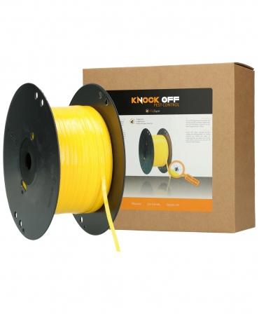 Rezerva rola banda galbena adeziva pentru insecte, Knock Off, 400 m