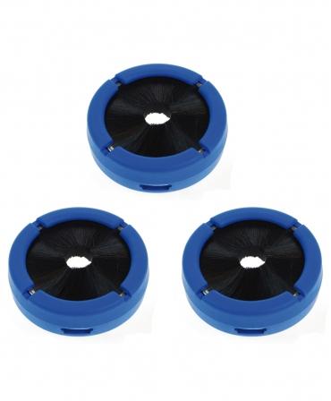 Accesorii pahare dipare, Ambic DipMizer, set 3 bucati, albastre