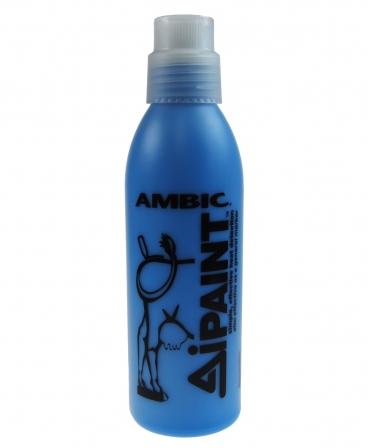 Vopsea temporara pentru marcarea animalelor, Ambic AiPaint, 12 flacoane de 500 ml, albastru