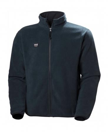 Bluza polar Helly Hansen Manchester Zip Fleece, bleumarin, fata