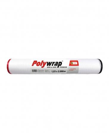 Plasa balotat Zill Polywrap Premium, rosu/negru, 1,23 x 2000 m