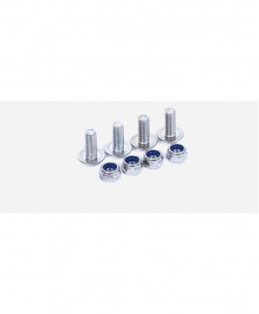 Suruburi cu piulite pentru fixarea lamelelor flexibile PVC Zill, set 50 bucati