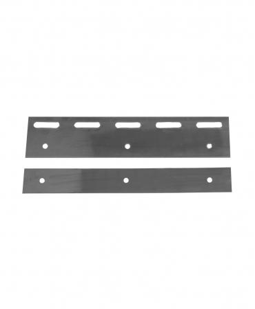 Placa inox pentru fixarea lamelelor flexibile PVC Zill