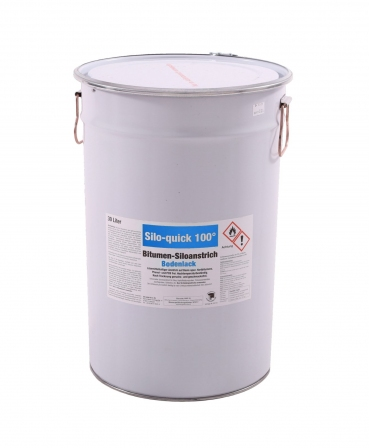 Vopsea bituminoasa pardoseli siloz Zill Silo-Quick, galeata 30 litri