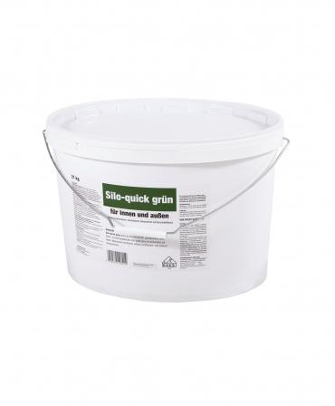 Vopsea acrilica pentru pereti siloz Zill Silo-Quick, verde, galeata 21 kg