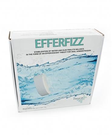 Tablete electroliti pentru vitei, Resco Efferfizz, cutie