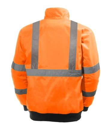 Geaca Helly Hansen Alta Pilot, reflectorizanta, HVC3, portocalie, spate