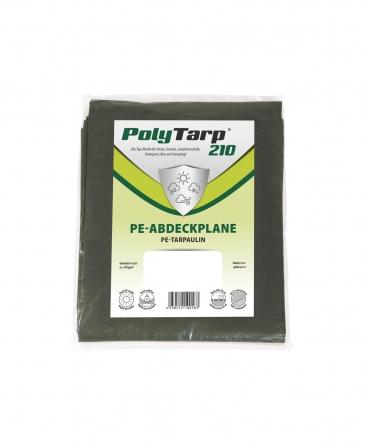 Prelata impermeabila tarpaulin Zill PolyTarp PE, verde, 210 g/m²