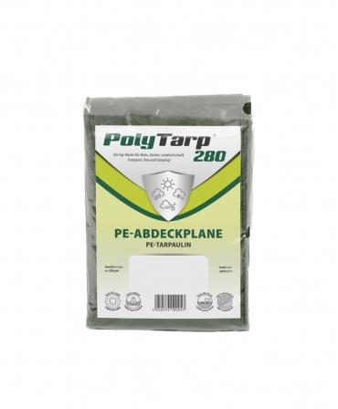 Prelata impermeabila tarpaulin Zill PolyTarp PE, verde, 280 g/m²