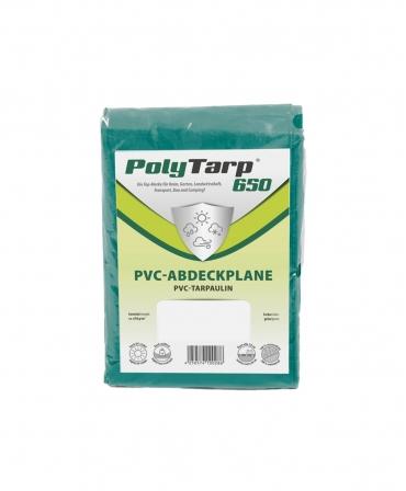 Prelata impermeabila tarpaulin Zill PolyTarp PVC, verde, fara ocheti, 650 g/m², 1,5 x 50 m