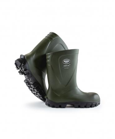 Cizme protectie Bekina MidliteX SolidGrip, O4, verde/negru